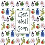 Alex Clark Art - Greeting Card - Little Sparkles - Get Well Soon